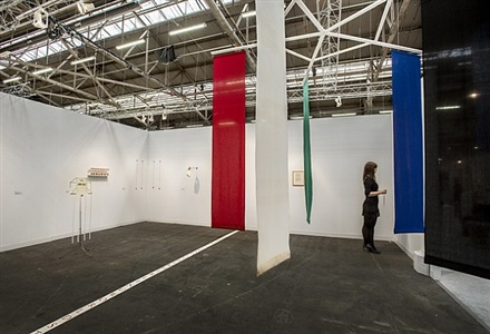 armory show, installation view 15 by terry fox
