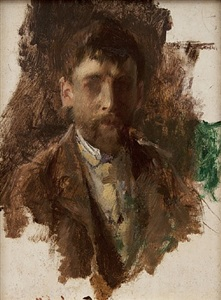 self portrait by robert frederick blum