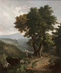 catskill mountain view by james h. cafferty