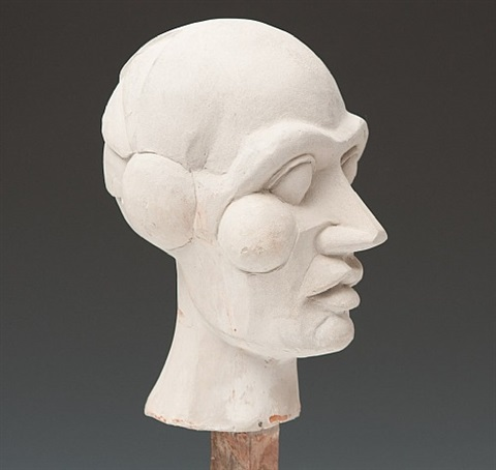 head of josephine baker by sir eduardo paolozzi