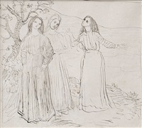 dorelia, gwen salmond and euphemia lamb by augustus edwin john
