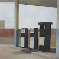 gas station no. 5 by wang yin