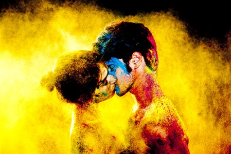 chromatic kiss by tyler shields