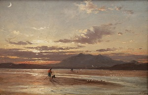 sunset by james francis danby