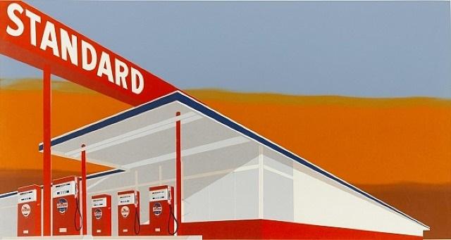 standard station by ed ruscha
