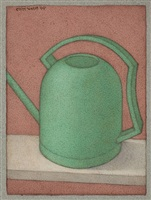 watering can - green by shanti panchal