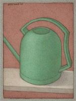 watering can - green by shanti panchal