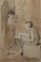 the drawing lesson by conger a. metcalf