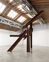 little dancer, installation view by mark di suvero