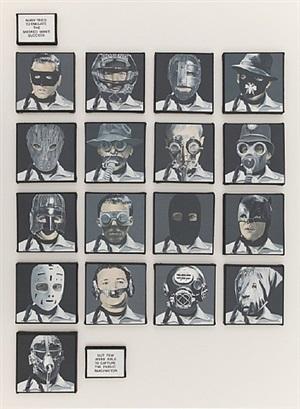 masked men by dotty attie