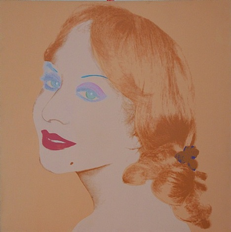 jane barber by andy warhol