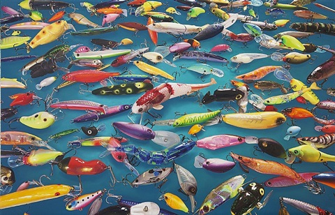 plastic fish by lee yong baek