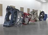 installation view, simon lee gallery, london by matias faldbakken