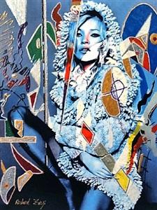 kate blue klein by richard zarzi