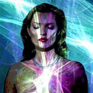 she's light (laser) by chris levine