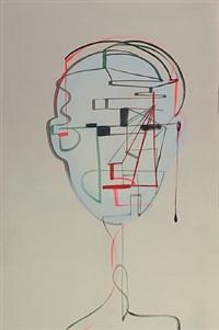 suite - #4 (face time series) by wanda koop