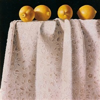 lemons on brocade by toni ellis