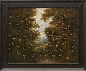 studies into the past (birds) by laurent grasso