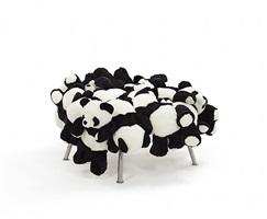 panda stool by fernando and humberto campana