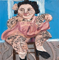tattooed lady by amanda doran