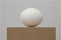 ostrich egg / straußenei by karin sander
