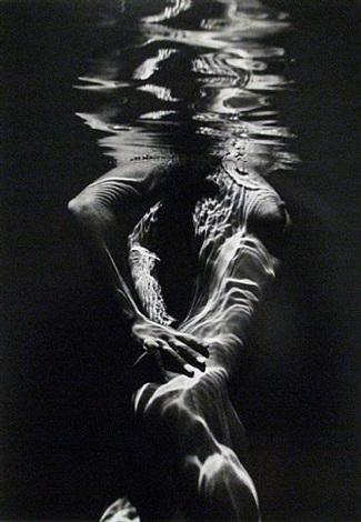underwater nude by brett weston