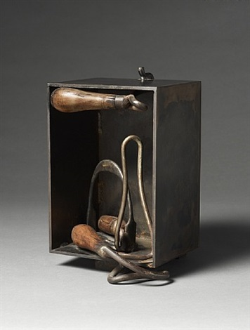table piece 'wednesday box' by anthony caro