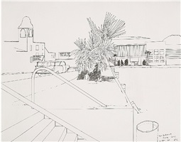 the ballroom, santa cruz by david hockney