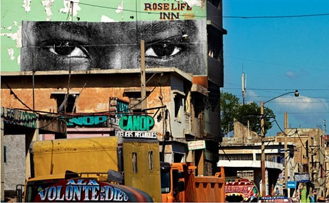inside out, haiti by jr