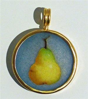 pear jewel by robert kulicke