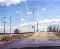 hood and wires, ohio by joachim brohm