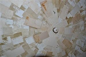 círculo de las cartas (detail ii) by josé manuel fors