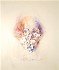 study toward an image of william shakespeare by louis le brocquy