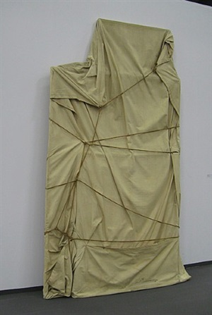wrapped paintings by christo and jeanne-claude