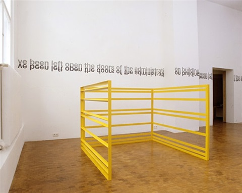 corral by liam gillick