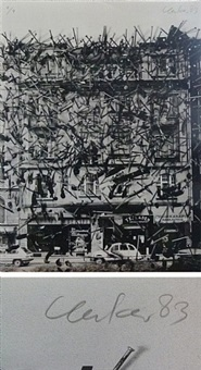 klause 1983 by günther uecker