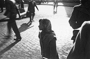 scarf by saul leiter
