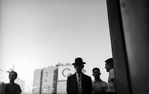 man with tie by saul leiter