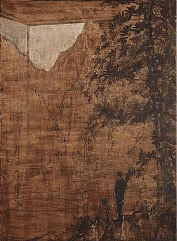 waning moon by wang yabin