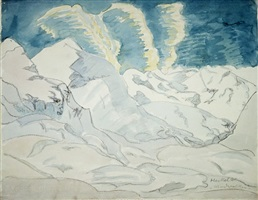 windwolken by erich heckel