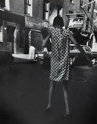 untitled, new york by leon levinstein