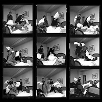beatles times nine (contact sheet), george v hotel, pari by harry benson