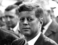 president john f. kennedy, paris by harry benson