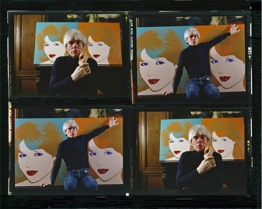 andy warhol, new york by harry benson
