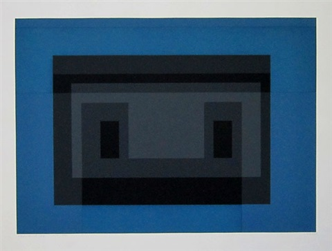 variant vii from the suite ten variants by josef albers