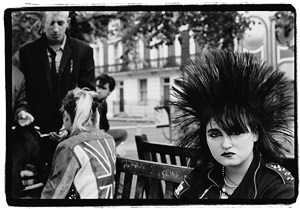 spiked hair by amy arbus