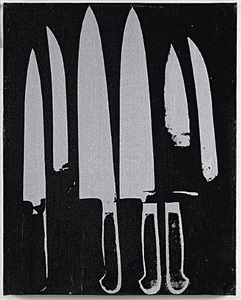 knives by andy warhol