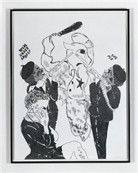 emory douglas suite (you pig) by sam durant