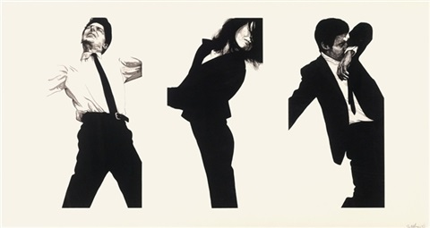 jules gretchen and mark state ii by robert longo