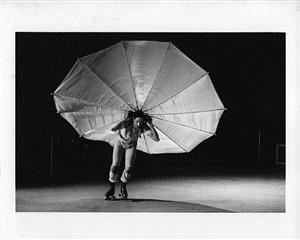 """robert rauschenberg in his """"pelican"""" by peter j. moore"""
